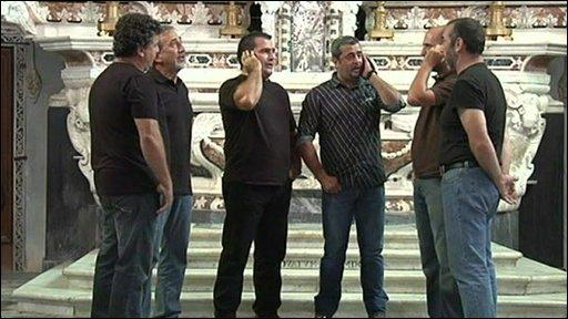 Corsican singers