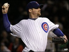 Chicago Cubs pitcher Ryan Dempster