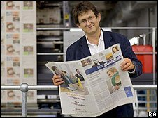 The Guardian's Editor, Alan Rusbridger