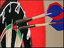 Darts on the BBC