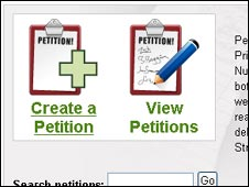 Downing Street e-Petitions