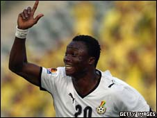 Ghana under-20 striker Dominic Adiyiah