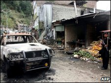 Scene of October Swat suicide bombing