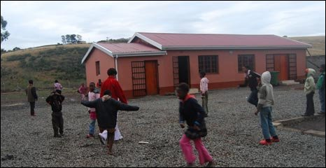 Children playing at the Palmerton centre