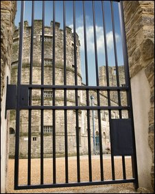 Debtor's Tower and gate at Oxford Castle
