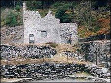 old mine building in Ceredigion