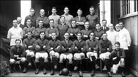 The Plymouth Argyle squad, 1921-2