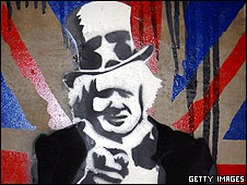 Boris by Banksy