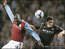 Emile Heskey and Gareth Barry