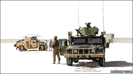 Sketches from Afghanistan