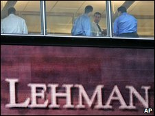 Lehman Brothers' former headquarters