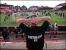 City being relegated in May 2003