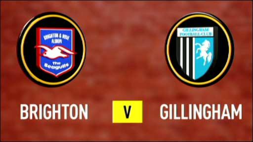 Brighton v Gillingham