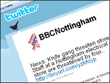 BBC Nottingham on Twitter