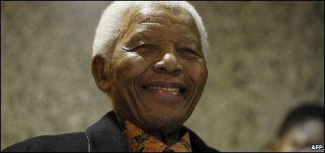 Nelson Mandela pictured in June 2009
