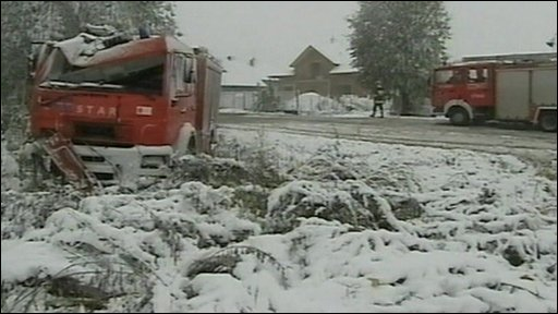 Snow in Poland