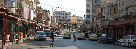 Qalqilya street scene