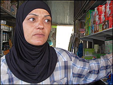 Qalqilya woman Sumaya Jaber