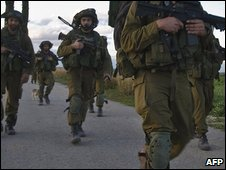 Israel soldiers (file image from Jan 2009)