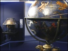 The exhibiton at the Vatican museums