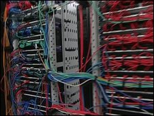 Data centre wires