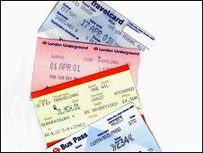 London transport tickets