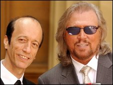 Bee Gees' Robin and Barry Gibb