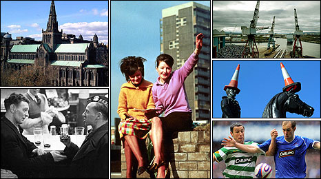 Images of Glasgow - pictures from Freefoto, Getty, BBC