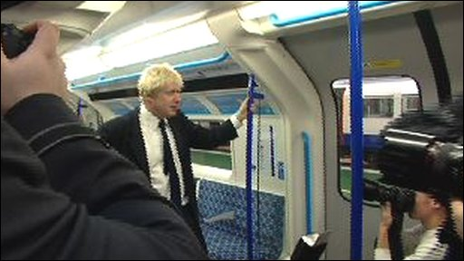 Boris Johnson makes the fares annoucement