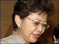 President of the Stock Exchange of Thailand, Patareeya Benjapolchai - file photo 2006