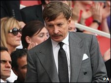 Stan Kroenke at Arsenal