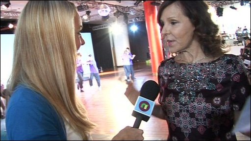 Newsround's Hayley and Arlene Phillips