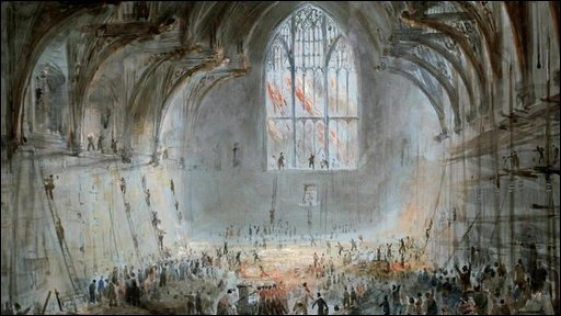 Westminster Hall 1834