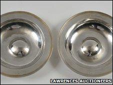 Elizabethan silver plates