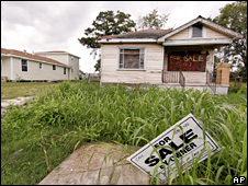 Lower Ninth ward of New Orleans (October 2009)