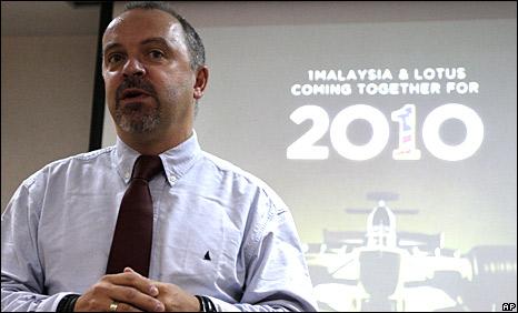 Lotus technical director Mike Gascoyne reveals Lotus' aims in Kuala Lumpur