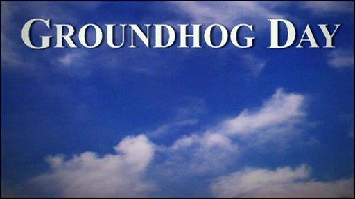 Groundhog Day graphic