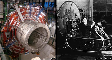 Large Hadron Collider and the Time Machine