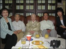 The South Korean family of Lee Hye-gyong, separated in the North during the Korean War