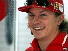 Ferrari's Kimi Raikkonen