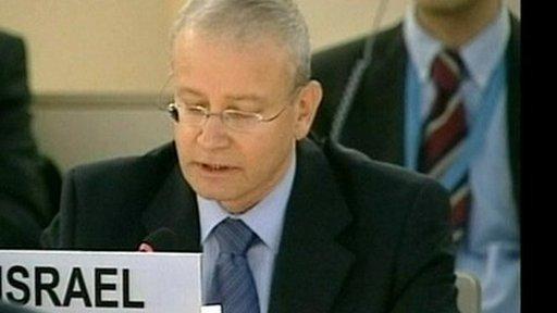 Israel's representative