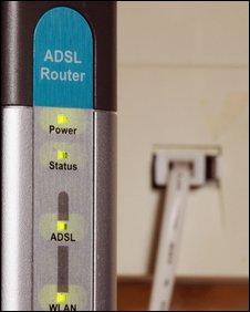 A broadband-enabled socket