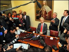Geert Wilders and Lord Pearson