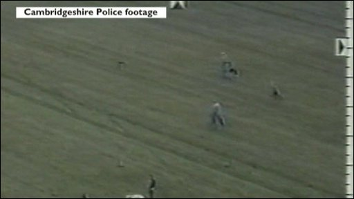 CCTV of hare coursing