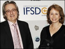Paul Lewis and Lesley McAlpine