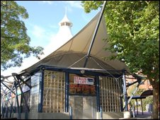 Swindon's tented market