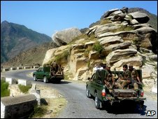Pakistani troops in Malakand