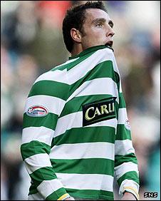 Celtic striker Scott McDonald