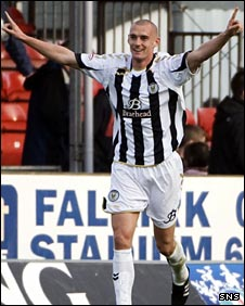 St Mirren midfielder Tom Brighton