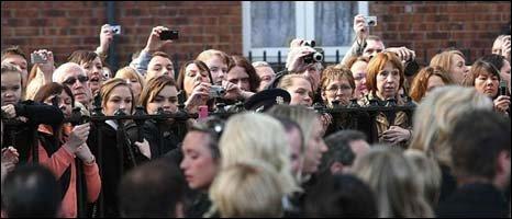 Boyzone fans